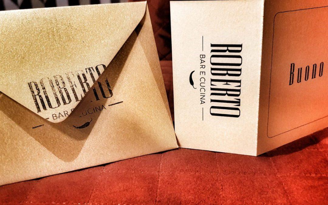 Roberto's cadeau tip,  Diner Cadeaubon van Roberto Bar e Cucina